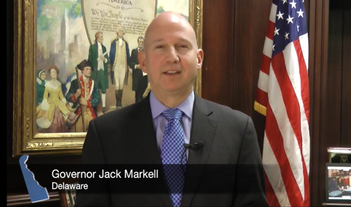 Gov. Markell Video
