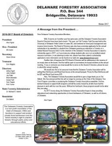 2017 DFA Winter Newsletter