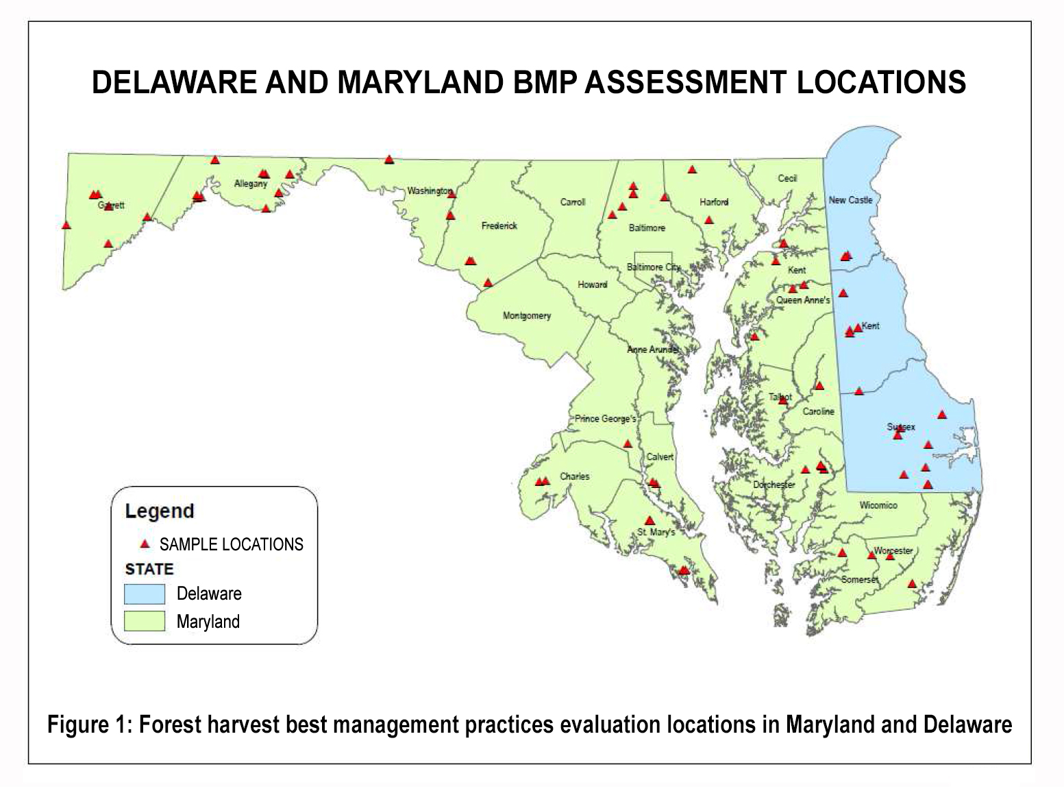 Compliance with Delaware forest harvest law protects water quality ...